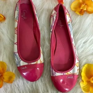 Coach Colorful Flats